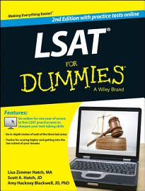 LSAT For Dummies  With Free Online Practice Tests