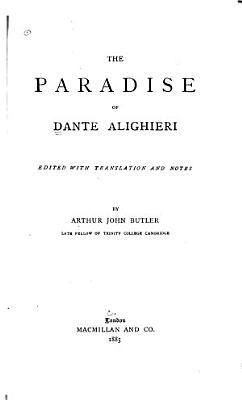 The Paradise of Dante Alighieri
