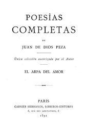 Poesías completas: Unica colección autorizada por el autor