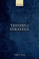 Theory of Strategy PDF