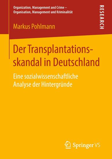 Der Transplantationsskandal in Deutschland PDF