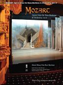 Mozart Opera Arias for Bass Baritone and Orchestra