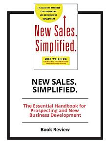 New Sales  Simplified   Book Review Book