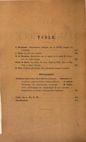 Revue de linguistique et de philologie comparée: Volumes5à6