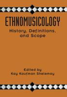 Ethnomusicology PDF