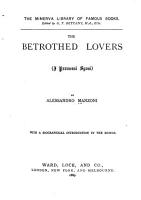 The Betrothed Lovers PDF
