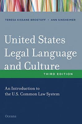 United States Legal Language and Culture