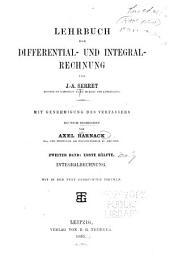 Lehrbuch der Differential- und Integralrechnung: Bd. 1. Hälfte. Integralrechnung. 2. Hälfte. Differentialgleichungen