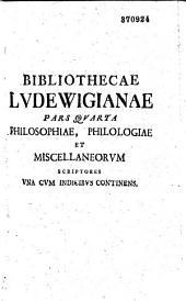 Catalogus praestantissimi thesauri librorum typis vulgatorum, et manuscriptorum...