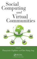 Social Computing and Virtual Communities PDF