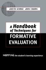 A Handbook of Techniques for Formative Evaluation