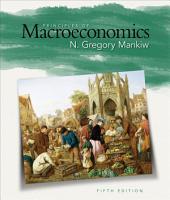 Principles of Macroeconomics: Edition 5