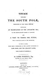 A Voyage towards the South Pole performed in the Years 1822 - 1824