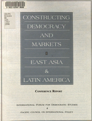 Constructing Democracy and Markets