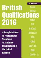 British Qualifications 2016 PDF