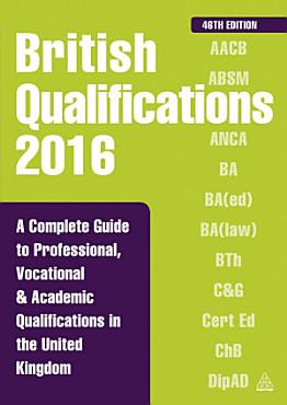 British Qualifications 2016 PDF