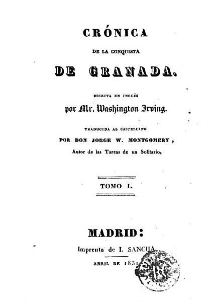 Cr  nica de la conquista de Granada