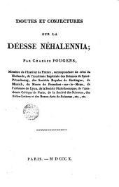Doutes et conjetures sur la Déesse Néhalennia