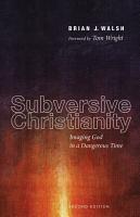 Subversive Christianity  Second Edition PDF