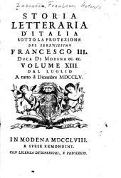 Storia letteraria d'Italia ...