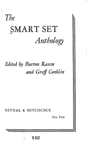 The Smart Set Anthology