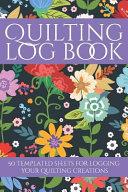 Quilting Log Book