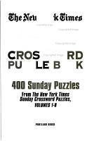 NY Times Jumbo Crossword Puzzle Book PDF