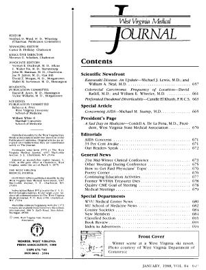 West Virginia Medical Journal PDF