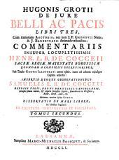 De Iure Belli Ac Pacis: Volume 2