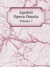 Apuleii Opera Omnia