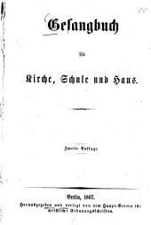 Gesangbuch für Kirche, Schule und Haus