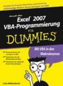 Excel 2007 VBA Programmierung f  r Dummies PDF