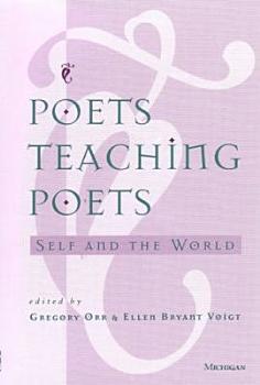 Poets Teaching Poets PDF