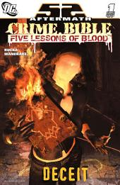 Crime Bible: The Five Lessons (2007-) #1