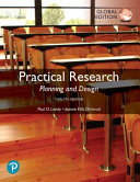 Practical Research  Planning and Design  Global Edition
