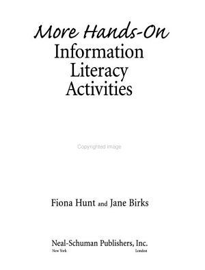 More Hands on Information Literacy Activities