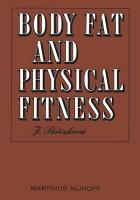 Body Fat and Physical Fitness PDF