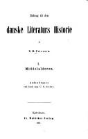 Bidrag til den danske Literaturs Historie PDF