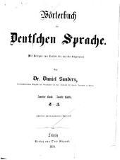 Wörterbuch der deutschen sprache: Band 2,Ausgabe 2