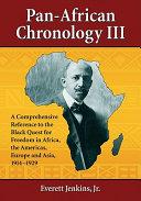 Pan-African Chronology III