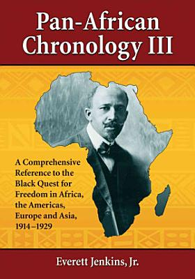 Pan African Chronology III PDF