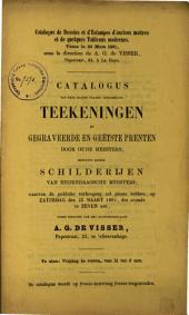 Veilingcatalogus, boeken, 28 maart 1861