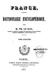 France. Dictionnaire encyclopédique: Volume 2