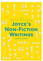 Joyce   s Non Fiction Writings PDF