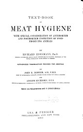 Text-book of meat hygiene: with special consideration of antemortem and postmortem of food-producing animals