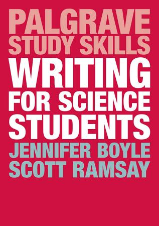 Writing for Science Students PDF