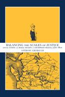 Balancing the Scales of Justice PDF