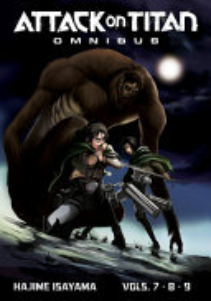 Attack on Titan Omnibus 3  Vol  7 9