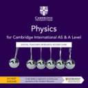 Cambridge International As & a Level Physics Digital Teacher's Resource Access Card