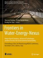 Frontiers in Water Energy Nexus   Nature Based Solutions  Advanced Technologies and Best Practices for Environmental Sustainability PDF